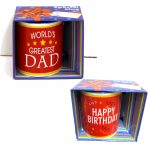 Ceramic Mugs Happy Birthday Worlds Greatest Dad