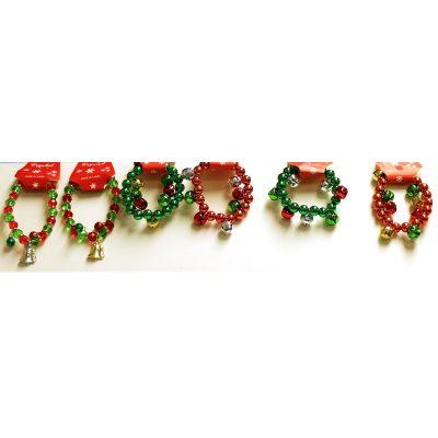 Christmas Assorted Jingle Bell Bracelet