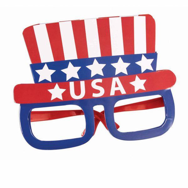 Patriotic USA Jumbo Eyeglasses