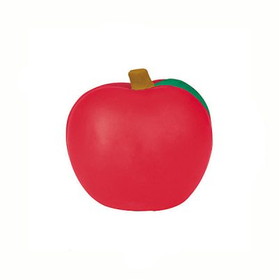 "2"" Relaxable Red Squeeze Apple"