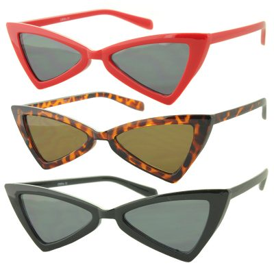Triangle Lens Retro Shaped Sunglasses