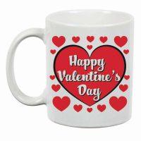 Happy Valentine's Day Ceramic Mug