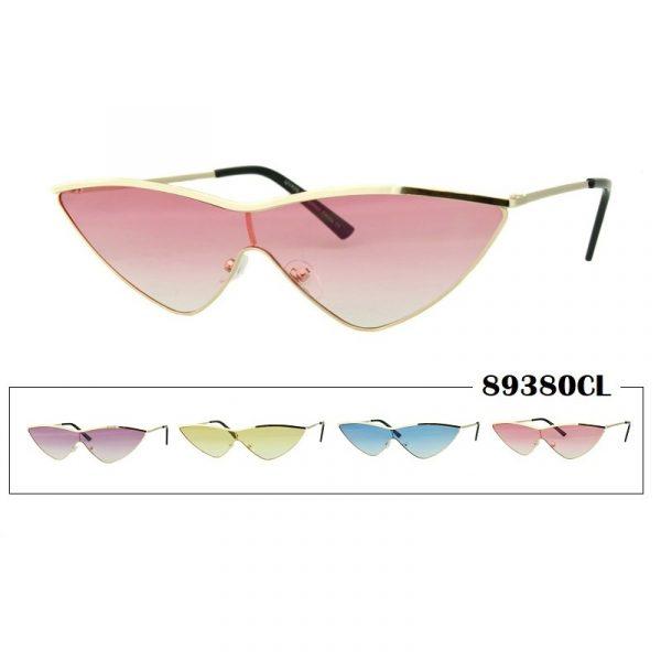 Unicolor Lens Gold Frame Sunglasses