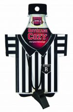 Referee Shirt Can or Bottle Koozie