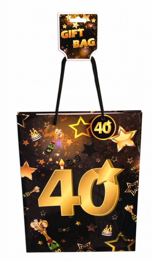 40th Birthday Gift Bag
