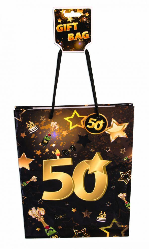 50th Birthday Gift Bag