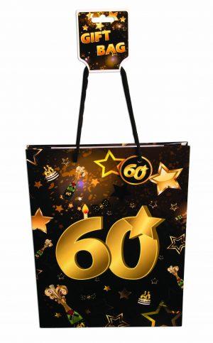 60th Birthday Gift Bag