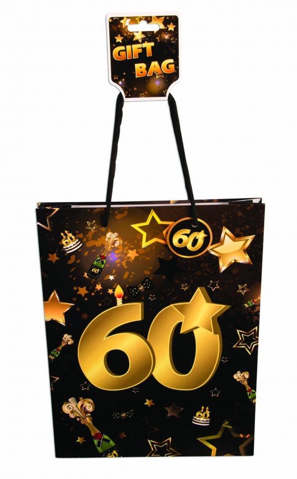 60th Birthday Gift Bag