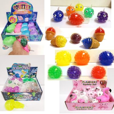 Squishy Squeezy soft rubber bead ball toys