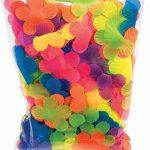 Party Fabric Luau Fluorescent Flower Petals