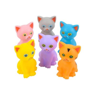 Party Rubber Squirting Toy kitten