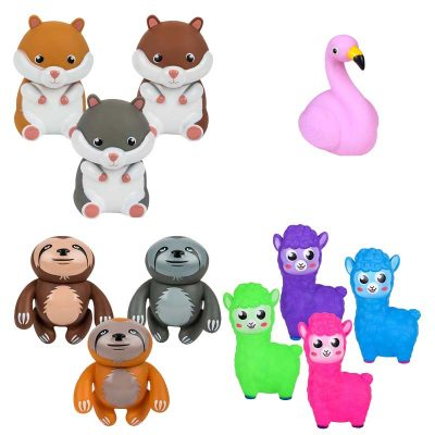 Rubber Squeaking Toy Animal