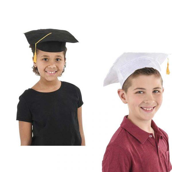 Child Size Felt Graduation Hats