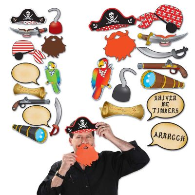 Pirate Photo Fun Signs - Photo Booth Props
