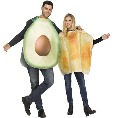 Avocado & Toast - 2 Costumes in 1 bag!
