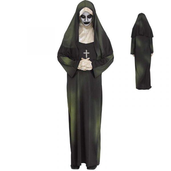 Possessed Postulant Scary Nun Halloween Costume