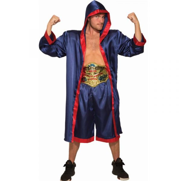 Heavy Weight Champion Boxer Adult Size Halloween Costume