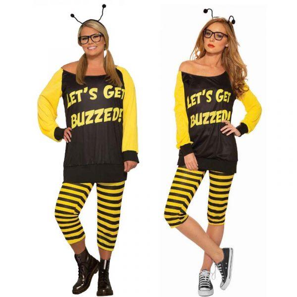 """Honey Bee Costume """"Let's get buzzed!"""""""