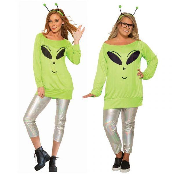 Alien Spaced Out Casual Halloween Costume