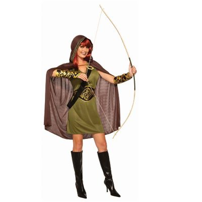Robin Hood Forest Huntress Halloween Costume
