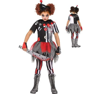 Sinister Circus Clown Ring Master Child Halloween Costume