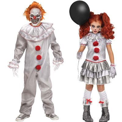 Carnevil Clown Child Costumes