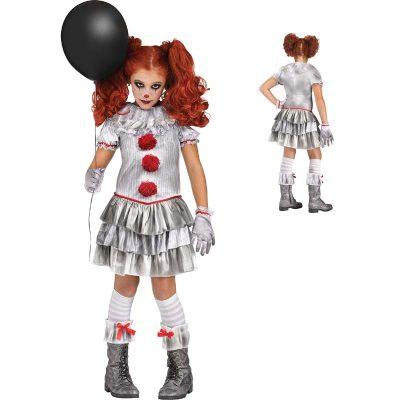 Carnevil Clown Child Halloween Costume