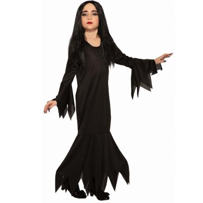 Miss Terious Morticia-style Child Costume
