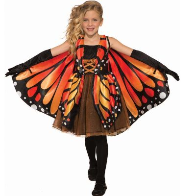 Butterfly Girl Monarch Costume