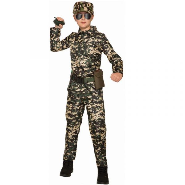 Army Jumpsuit Child Halloween Costume
