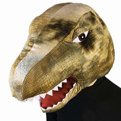Giant Plush Dinosaur Head