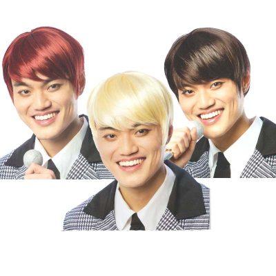K-Pop Wigs Blonde, Brown, or Red