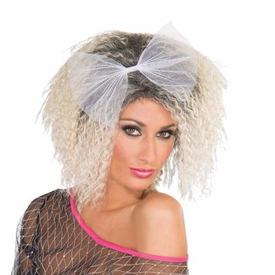Frizzed 80s Mixed Blonde Wig