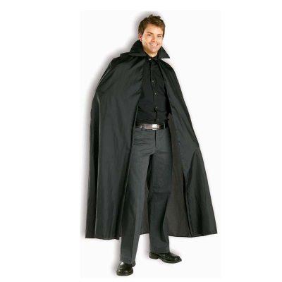 56 Inch Black Promo Polyester Cape