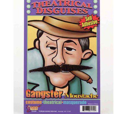 Black Gangster Mustache