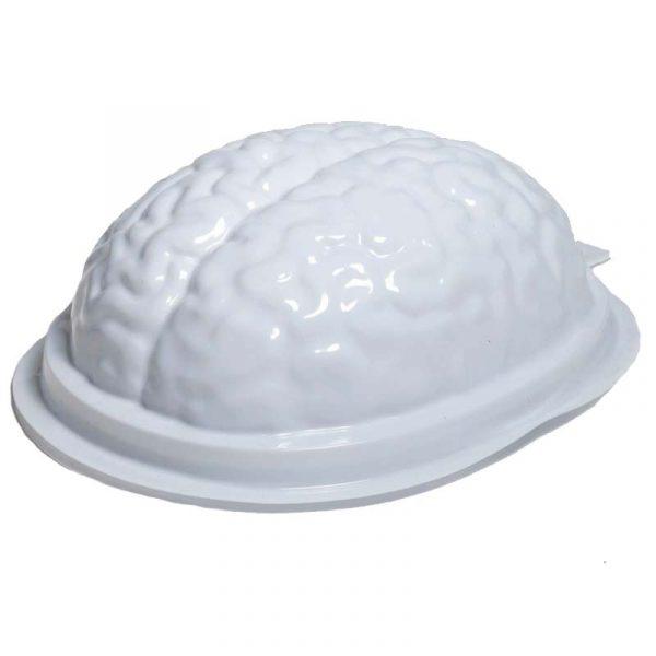 White Vacuum Form Plastic Brains Gelatin Mold