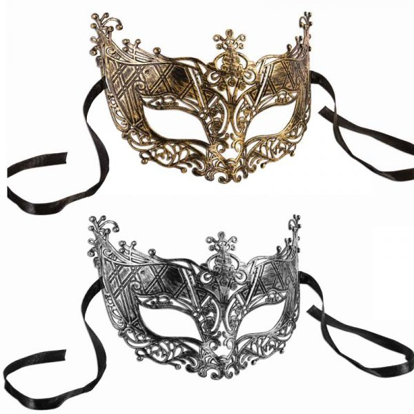 Plastic Filigree Half Mask