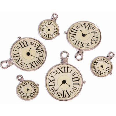 Steampunk Assorted Clock Charms