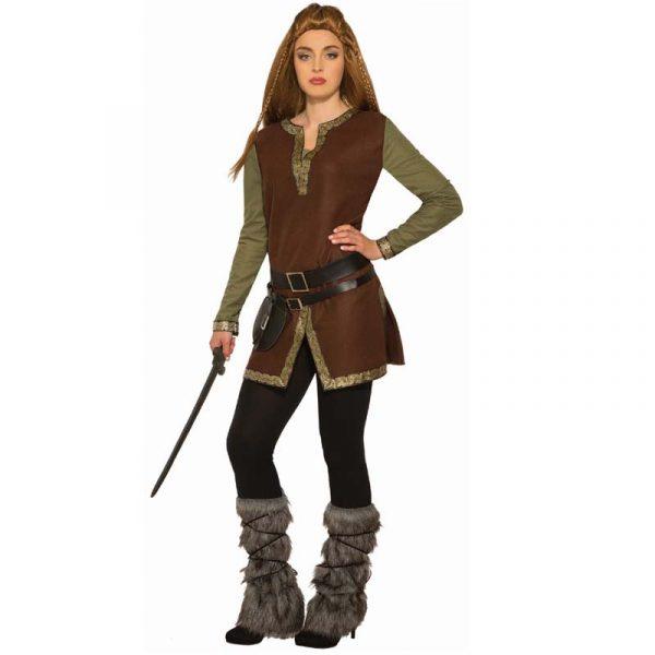 Furry Viking Leg Covers