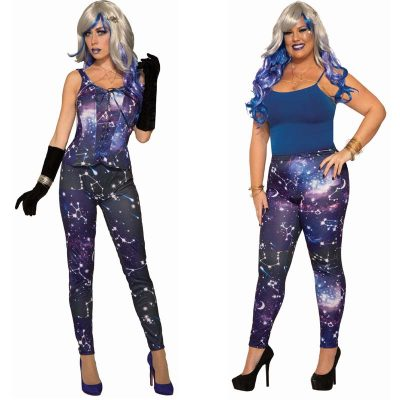 Celestial Galaxy Leggings Standard or Plus Size
