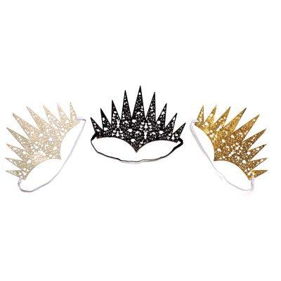 Costume Flexible Glitter Crown
