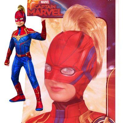 Captain Marvel Headpiece w Hair