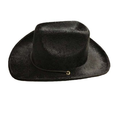 Soft Fabric Western Hat