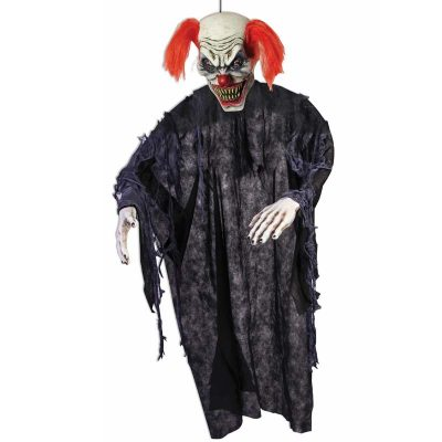 Hanging Scary Clown Prop
