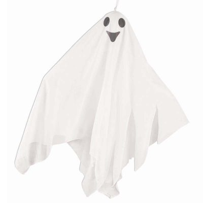 21 Inch Hanging Fabric Ghost