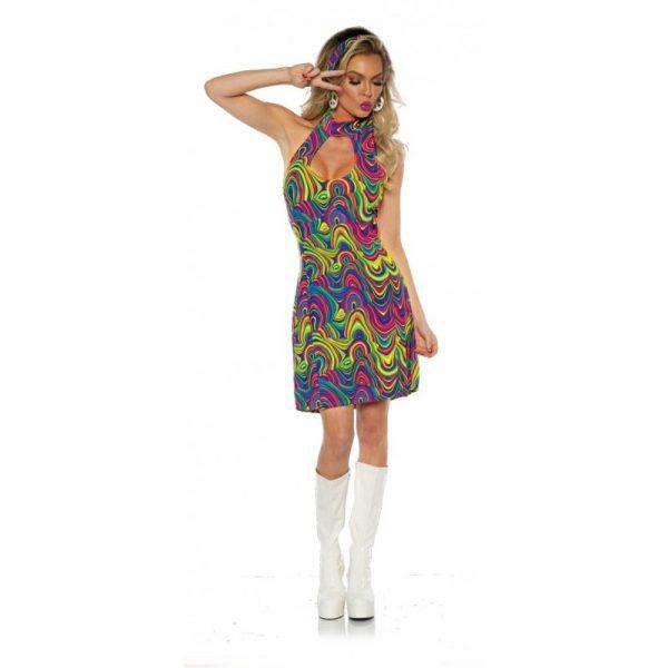 Halter Top Glow Dress