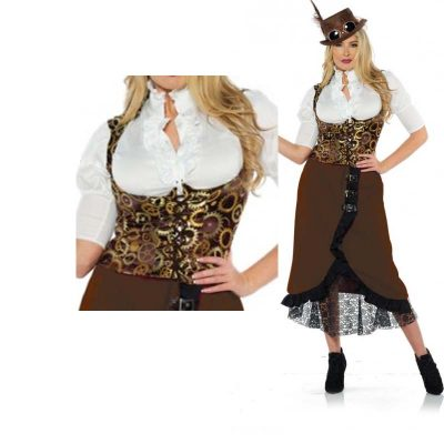 Steampunk Ladies Vest