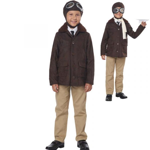American Aviator Child Halloween Costume