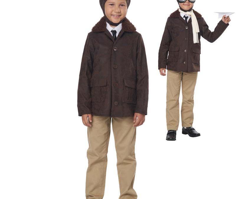 American Aviator Child Halloween Costume