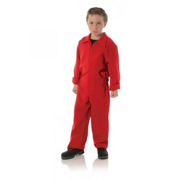 Boiler Jumpsuit - Child Red